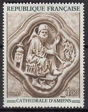 FRANCE TIMBRE NEUF N° 1586  **  CATHEDRALE D AMIENS QUATRE FEUILLES DE FEVRIER