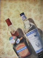 PUBLICITÉ 1956 BLACKBERRY MARIE BRIZARD LIQUEUR DE FRUIT - ANISETTE- ADVERTISING