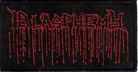Blasphemy - Demo Logo Patch Black Death Metal Bathory Venom Deicide