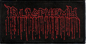Blasphemy - Demo Logo Patch Black Death Metal Bathory Venom Deicide