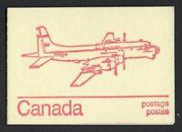 Canada BK74a Caricature 1c, 6c, 8c (book of 6, DF), Argus Subhunter cover, VF