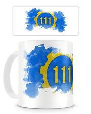 VAULT 111 MUG - Cup 11oz Coffee Tea Fallout 4 Pipboy Game Gaming Gamer