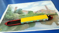 Canal tug barge 00 gauge.Traditional tug cruiser OO scale Made in resin  painted