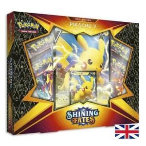 Pokemon - Shining Fates Pikachu V Box English Neu/OVP