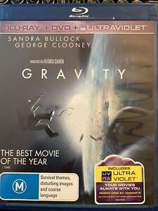 Gravity blu ray GMC Genuinely enthralling sci fi so well made. Sandra Bullock