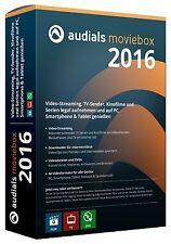 Audials Moviebox 2016 DVD EAN 4023126117731  &  Architekt 3D X8 Innenarchitekt