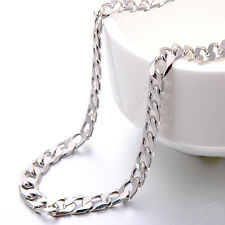 Classic Mens Figaro Chain Stainless Steel Cuban Link Chains Free Shipping