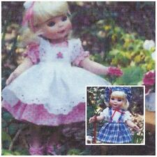 """See re-size chart Sewing Clothes 2 dress hat  Pattern fits 10""""  Tonner  dolls"""