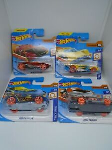Hot Wheels 1:64 Vehicles - Track Stars 2020 Series - Choose Yours: