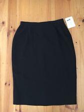 NWT Stitches Black Lined Pencil Skirt Size 16 (originally $49.95)