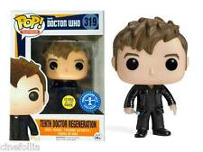 Tenth 10th Doctor Who Regeneration Glows in the dark Pop! Funko Vinyl figure 319