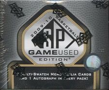 2009-10 UD UPPER DECK SP GAME USED EDITION BASKETBALL HOBBY BOX SEALED