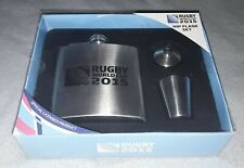 New listing IRB Rugby World Cup England 2015 Official product Stainless Steel Hip Flask Set