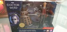 Dr Who Seventh 7 Doctor Figure & Axis Strike Dalek Gallifrey VI Collector Set