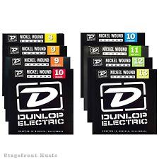 DUNLOP ELECTRIC GUITAR STRINGS NICKEL WOUND VARIOUS GAUGES