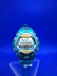 Casio Gshock BabyG BG-1001 SPORT 20BAR WATCH BLUE ILLUMINATOR
