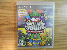 PS3 Marvel Super Hero Squad The Infinity Gauntlet Bonus Character Captain Americ