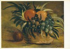 Derain Nature Morle France Paris Fruit Orange-Collectible Vintage Art Post Card