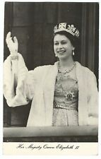 Her Majesty Queen Elizabeth II, After Coronation, PPC, Unposted, by Tuck