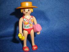 city life Strand Urlaub Beach Strandschönheit Handtuch Bikini unbespielt top