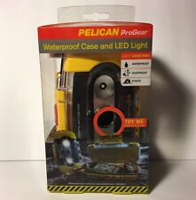 NEW Pelican 9000 Waterproof Flashlight Case & LED Light - Valuables Protector