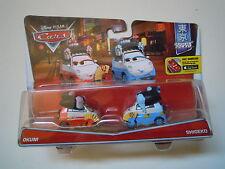 CARS Disney pixar cars OKUNI + SHIGEKO rarissimo 2016 scala 1/55 mattel maclama