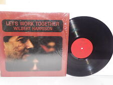 WILBERT HARRISON Let's Work Together LP Vinyl Stereo Soul Rattler Blue Monday