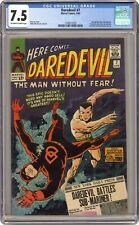 Daredevil #7 CGC 7.5 1965 1349577028 1st app. Daredevil's red costume