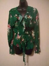 H&M Green Blouse