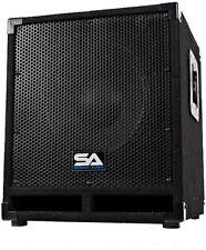 """Seismic Audio Mini-Tremor Powered 12"""" Pro Audio Subwoofer"""