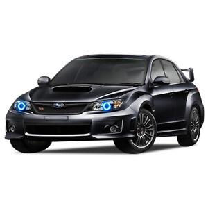 for Subaru Impreza 08-14 Blue LED Halo kit for Headlights