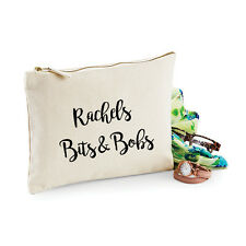 Personalised Bits & Bobs Make Up Bag - Ideal Birthday Present/Gift