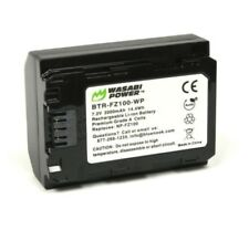 Wasabi Power NP-FZ100 2000mAh 7.2V Li-ion Battery Pack For Sony A7R III A7lll A9