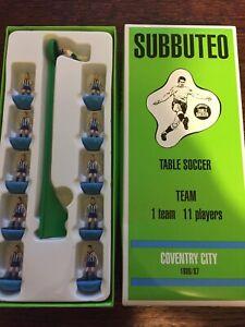 Subbuteo Legends / Leggenda Vintage Team - Coventry City 1986/87