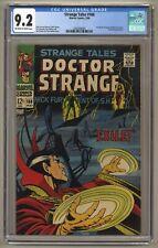 Strange Tales 168 (CGC 9.2) OW/W pgs; Last Doctor Strange and Nick Fury (j#5836)