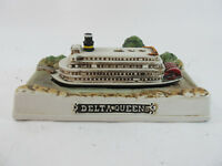 Delta Queen Ceramic Paddle Wheel Steamboat Riverboat Steamer