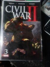Civil War II #3 (Marvel Comics 2016) 1st App Death of Bruce Banner Immortal Hulk