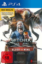 The Witcher 3 Wilde Jagd Blood And Wine PS4 *NEU & OVP* + GWINT KARTEN Add-On