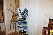 NEW NWT Signature by Robbie Bee Dress Size  PM    Multi Color Sweet