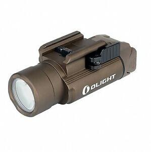 Olight PL-PRO Valkyrie pistol Flashlight weapon torch (Desert Tan) Rechargeable