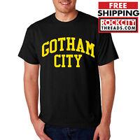 BATMAN GOTHAM CITY ORIGINAL T-SHIRT DC Comics Tshirt Joker Dark Knight Shirt Bat