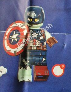 LEGO MINIFIGURES MARVEL SUPERHEROES 71031 MINIFIGURE ZOMBIE HUNTER SPIDEY NEW