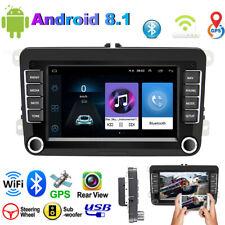 "Android 8.1 7"" 2 DIN Autoradio GPS NAVI WIFI Pour VW GOLF 5 6 PASSAT POLO Caddy"