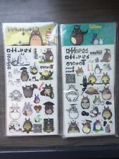 2 Packs Tatouage Éphémère Totoro Studio Ghibli NEUF & LIVRAISON GRATUITE