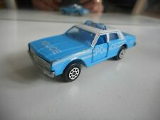 Majorette Chevrolet impala Police in Blue/White