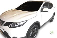 DNI24286 NISSAN QASHQAI mk2 J11 2013-up WIND DEFLECTORS 4pc HEKO TINTED