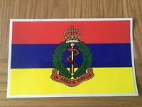 MILITARY LAND ROVER ARMY RAMC DECAL X2 ROYAL ARMY MEDICAL CORPS