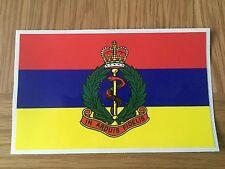 LAND Rover Militare dell'Esercito Esercito Decalcomania X2 ROYAL SERVIZIO SANITARIO