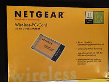 Netgear Wireless PC Card MA521, 32Bit Card Bus