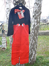 NUOVO Konfetti Modell costume carnevale bambini Topolino Mickey Mouse  vintage